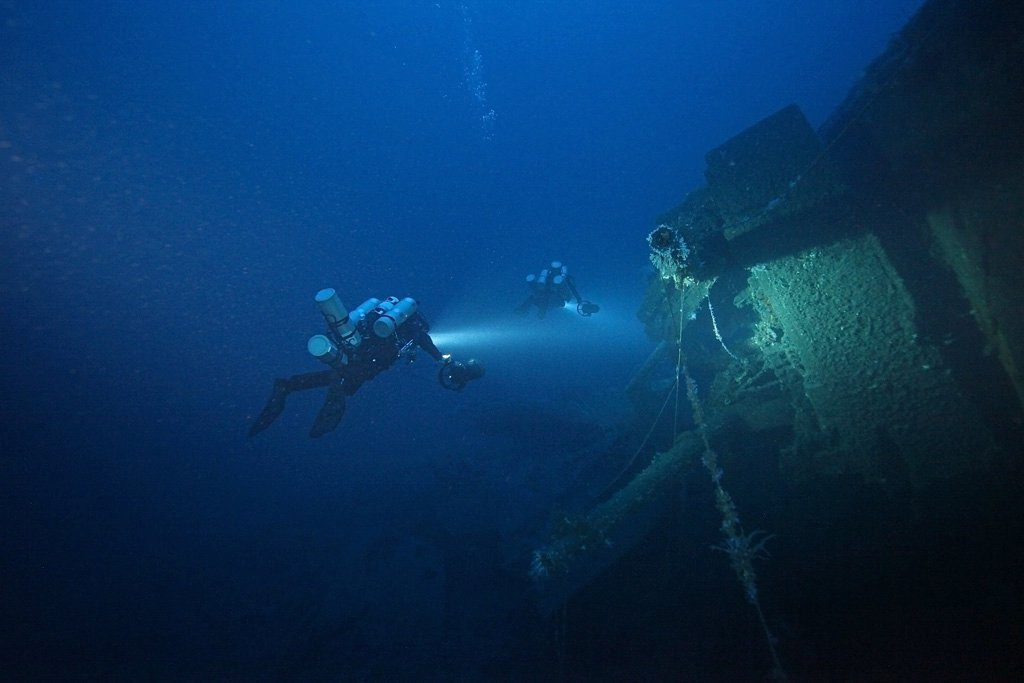 How Deep is Deep? The 20 Deepest Tech Shipwreck Dives and How They