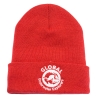 Red Foldover Beanie