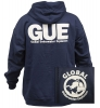 GUE Navy Zipper Hoodie (Discontinued)