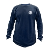 Navy Long-Sleeve Thermal Shirt