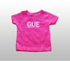 Pink GUE Infant Tee