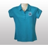 Ladies Tropic Blue Logo Polo