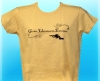 Ladies Yellow Diver Tee