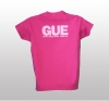 Ladies' Pink GUE T-Shirt