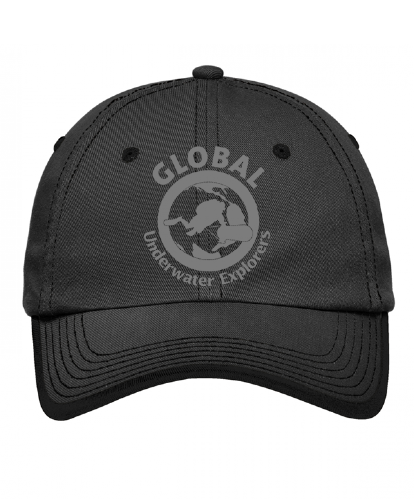 Charcoal/black ballcap